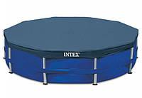 Тент для бассейна Intex 28032 каркасный 457 см