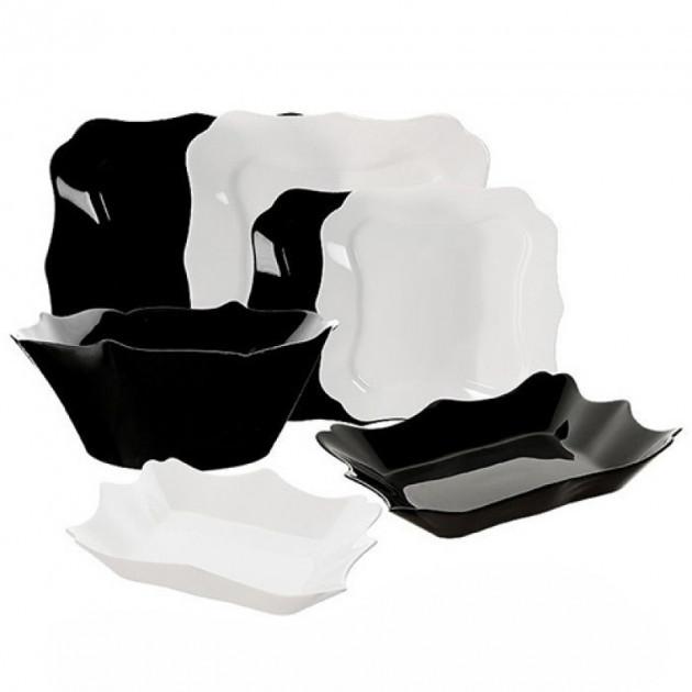 Сервиз Authentic Black&White 19 предметов Luminarc