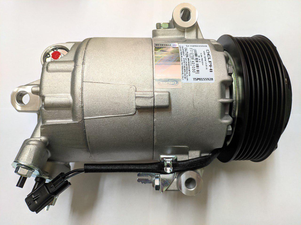 Компрессор кондиционера Renault Master, Opel Movano 2.3, 2010-, Delphi TSP0155928