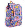 Стильный и модный рюкзак для подростков голубого цвета Daisy