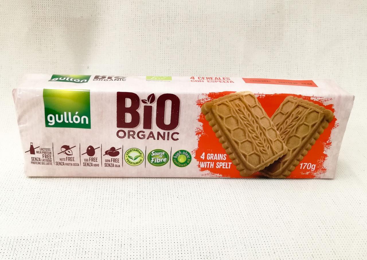 Органическое печенье Gullon bio organic 170 gramm