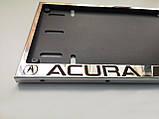 Номерная рамка для авто ACURA, фото 5