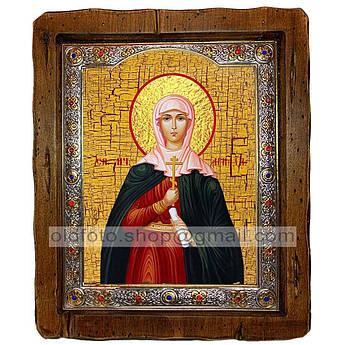 Ікона Аріадна Свята мучениця (з посрібленою рамкою 110х130 мм)