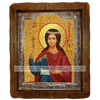Ікона Василина Свята Блаженна (з посрібленою рамкою 110х130 мм)