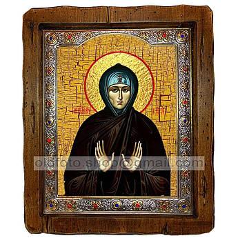 Ікона Кіра Свята Берийская (з посрібленою рамкою 110х130 мм)