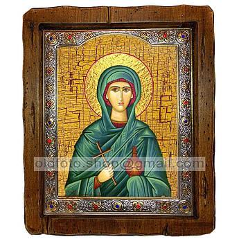 Ікона Соломія Свята мироносиця (з посрібленою рамкою 110х130 мм)