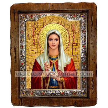 Ікона Емілія Свята Кесарийская (з посрібленою рамкою 110х130 мм)