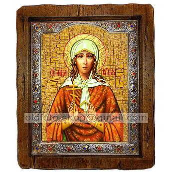 Ікона Иулия (Юлія) Свята Мучениця (з посрібленою рамкою 110х130 мм)