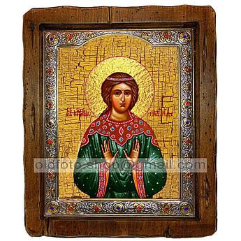 Икона Надежда Святая Мученица Римская  ,с посеребренным окладом 160х200 мм