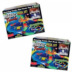 Magic Tracks 360 деталей траса 5,2 метра 2 машинки реліз 2020 року