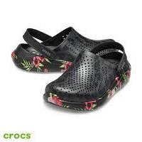 CrocsLiteRide Wild Clash Clog оригинал США W11 42-43 (26.5см) утонченные сабо original крокс клоги сандалии