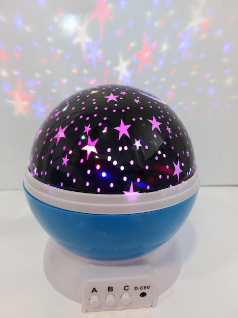 Вращающийся проектор звездного неба Star Master ночник