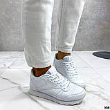 Женские кроссовки Reebok белые, фото 5