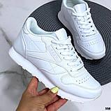 Женские кроссовки Reebok белые, фото 4