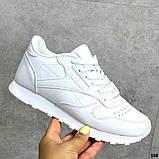 Женские кроссовки Reebok белые, фото 8