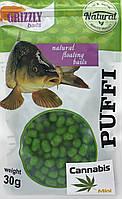 Воздушное тесто Grizzly Puffi Mini 30g 8mm Cannabis Конопля (98003004)