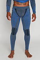 Мужские термоштаны с шерстью альпаки HASTER ALPACA WOOL зональное бесшовное шерстяное термобелье, фото 1