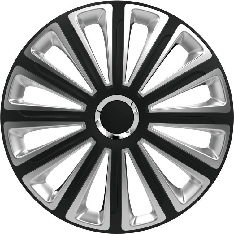 Ковпаки R14 Versaco Trend RC Black & silver