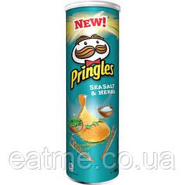 Pringles Морская соль и травы