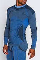 Мужская термокофта с шерстью альпаки HASTER ALPACA WOOL зональное бесшовное шерстяное термобелье, фото 1