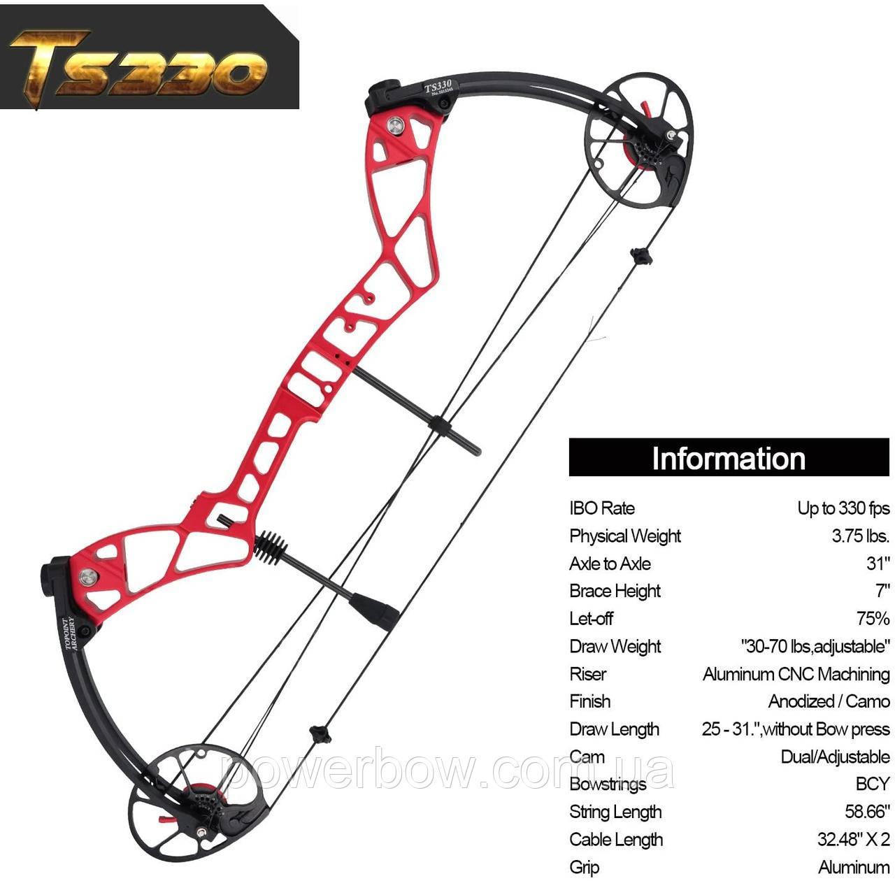 Topoint TS330 Блочный лук для стрельбы