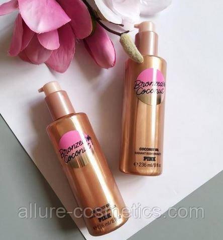 Пудра для тіла Victoria's secret pink bronzed coconut oil