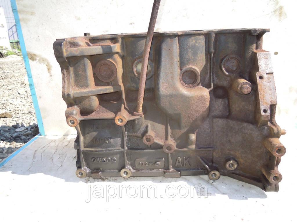 Блок цилиндров (двигателя) ГОЛИЙ Nissan Almera N16 2000-2006г.в. QG15 1.5 бензин