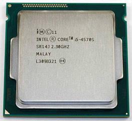 Процессор Intel Core i5-4570S BX80646I54570S 2.9GHz Socket 1150 Tray Б/У