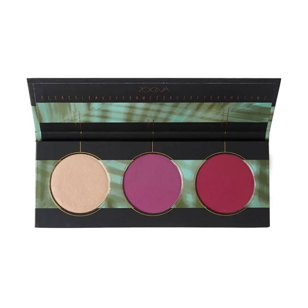 Палетка румян для лица Zoeva Offline Blush Palette (4250502806815)
