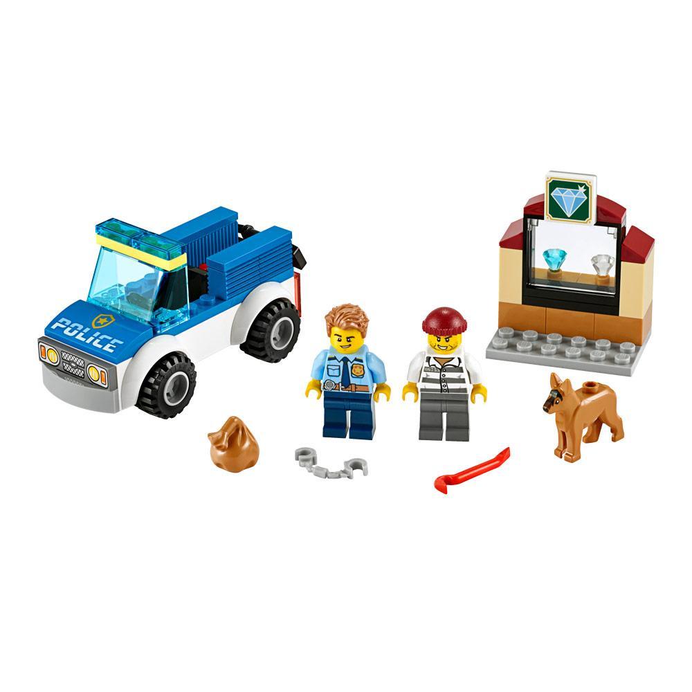 Конструктор LEGO City Полицейский отряд с собакой 67 деталей (60241)
