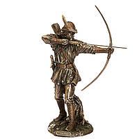 """Статуэтка с бронзовым покрытием """"Робин Гуд"""".28 см Veronese, фото 1"""