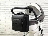 WOW! Универсальная сумка для коляски Z&D Maxi Эко кожа Черная Польша