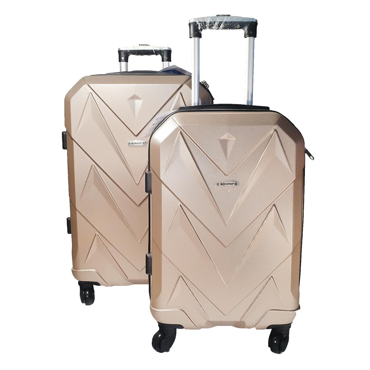 Комплект чемоданов, ABS+PC Kaiman