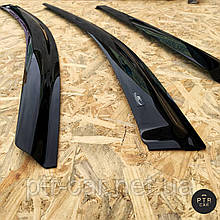 Дефлектори вікон (вітровики) Opel Astra H 2004 ->2009 HB 4шт (HIC)