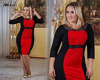 Платье женское больших размеров батал 385.1 гл
