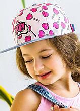 Детская кепка для девочки Одежда для девочек 0-2 Dembo House Украина МИР Розовый