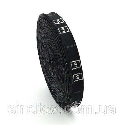 Размерник тканевый №60 960шт. Черный (СТРОНГ-1302), фото 2