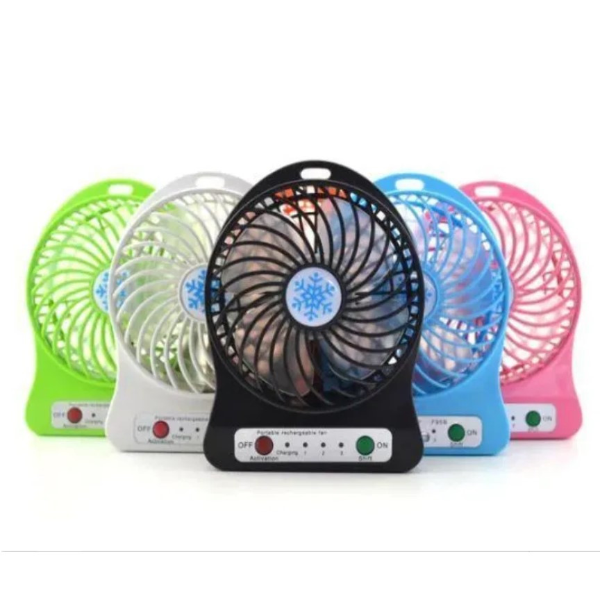 Портативный настольный мини вентилятор Mini fan