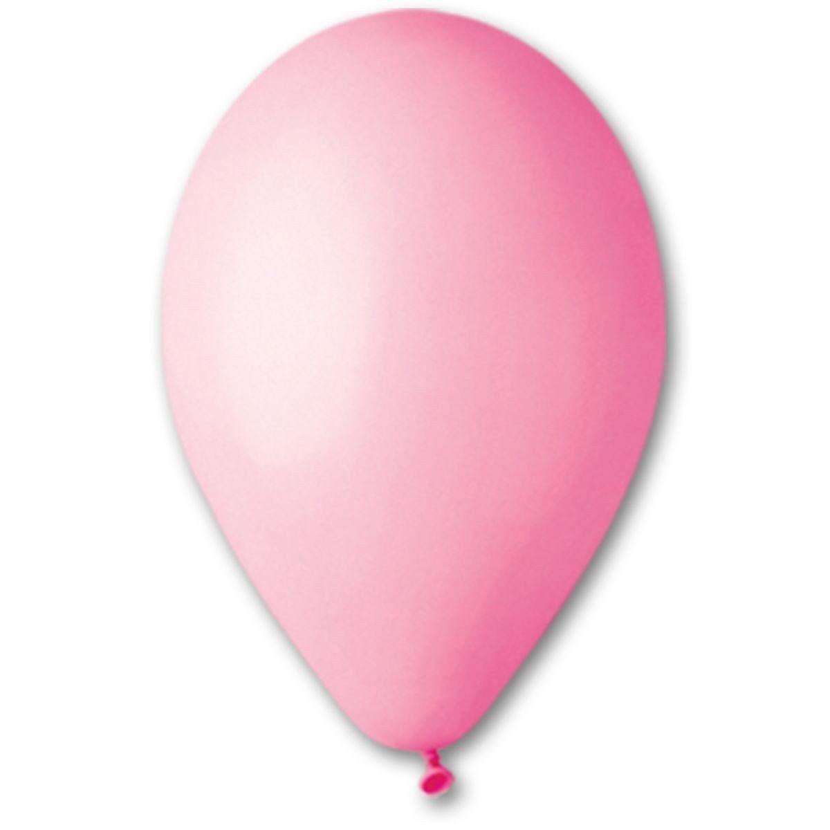Воздушные шары GEMAR 12/06 (30см) Пастель Розовый 50шт