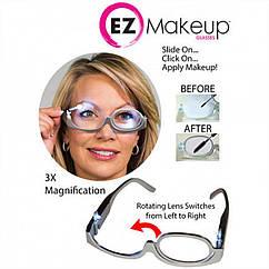 Увеличительные очки для нанесения макияжа с подсветкой  3X Magnification makeup glasses