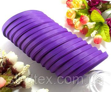 (15 рулонов) РЕПСОВАЯ лента ширина 0,6см (25 ярдов) Цена за блок, цвет - Фиолетовый (сп7нг-3319)