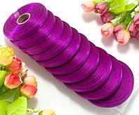 "Лента атласная оптом (шир. 0,6см длина 23 метра) ""LiaM"" Цена за 10шт Цвет - лиловый (сп7нг-2709)"