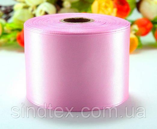 "Лента атласная 5см ширина (25 ярдов) ""LiaM"" Цена за рулон. Цвет - Нежно розовый (сп7нг-2662), фото 2"