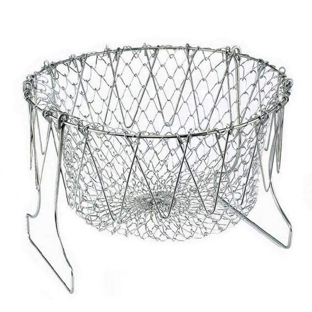 Складной кухонный дуршлаг Magic Kitchen Chef Basket