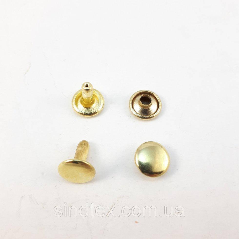 Холитен 6х6 Золото (2000шт.) двосторонній (СТРОНГ-0202)