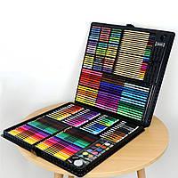 Видеообзор!Большой художественный набор для рисования  и творчества в чемоданчике Colorful Italy 258 предметов
