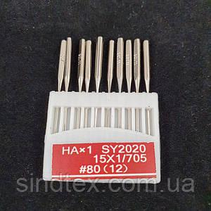 Иглы для бытовых машинок №80 10шт. (СТРОНГ-0014)