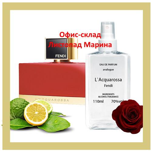 Fendi L Acquarossa для жінок Analogue Parfume 110 мл