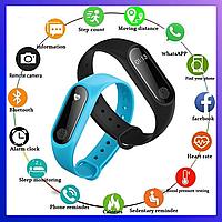 Фитнес трекер Xiaomi Mi band 2, Fitnes tracker M2, часы для фитнеса, smart watch, смарт годинник, РЕПЛИКА