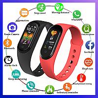 Фитнес трекер Xiaomi Mi band 5, Fitnes tracker M5, часы для фитнеса, smart watch, смарт годинник, РЕПЛИКА